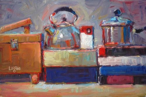 """Still Life Landscape #11"" original fine art by Raymond Logan"