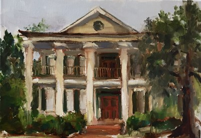 """""""The Old Home Place"""" original fine art by Marcia Hodges"""