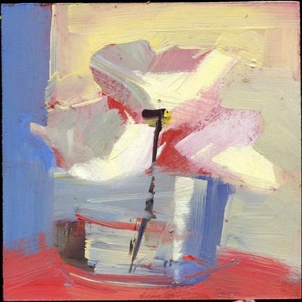 """2176 River's Edge"" original fine art by Lisa Daria"