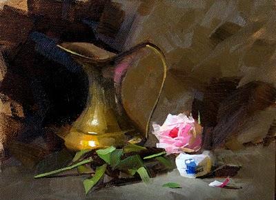 """""""Glory"""" original fine art by Qiang Huang"""