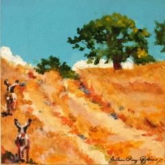 """""""The Path"""" original fine art by JoAnne Perez Robinson"""