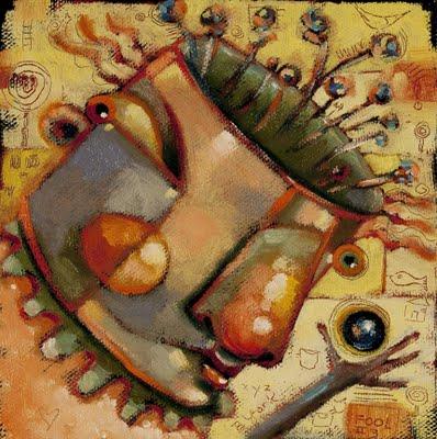 """Lost Marble"" original fine art by Brenda York"