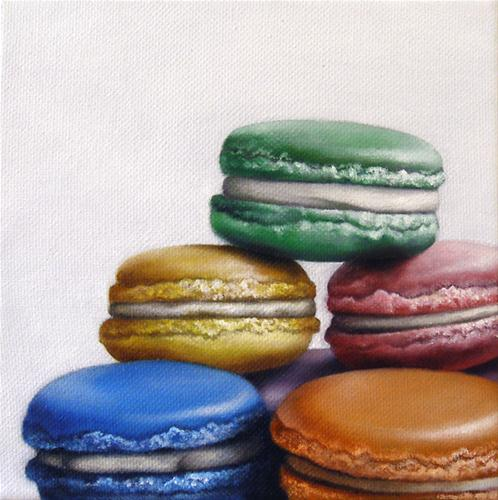 """Macaroon Study I"" original fine art by Jelaine Faunce"