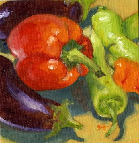 """""""Color Rush"""" original fine art by Sandy Haynes"""