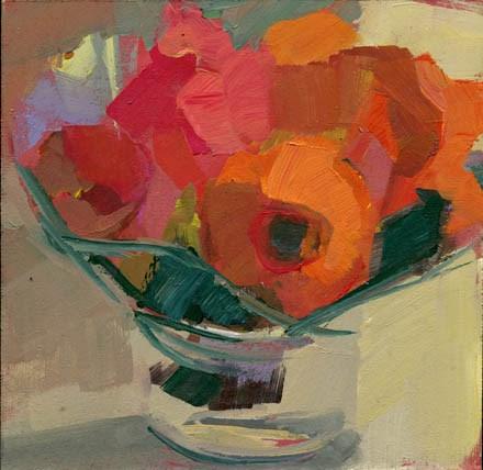 """1439 Three More"" original fine art by Lisa Daria"