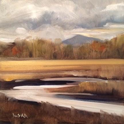 """New Hampshire March #2"" original fine art by Elaine Juska Joseph"