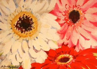 """Happy Monday"" original fine art by JoAnne Perez Robinson"