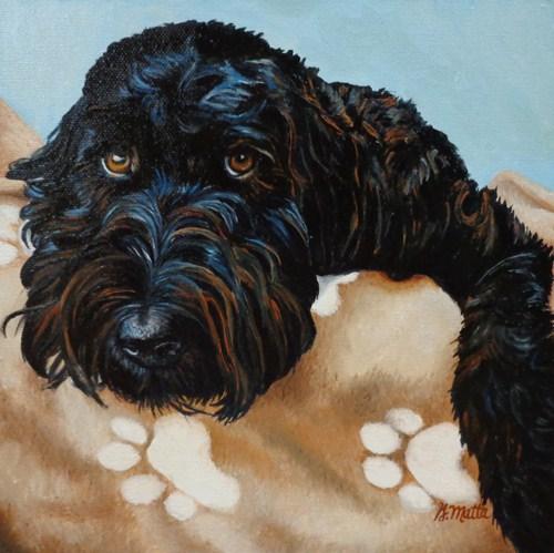 """""""Bear"""" original fine art by Gretchen Matta"""