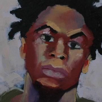 """JOE No.3"" original fine art by Linda Popple"
