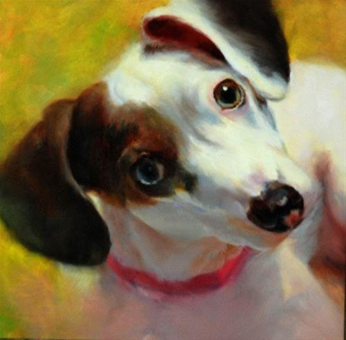 """Shelter Rescue #1"" original fine art by Dorothy McLennan"