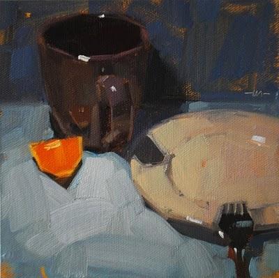 """""""Singled Out"""" original fine art by Carol Marine"""