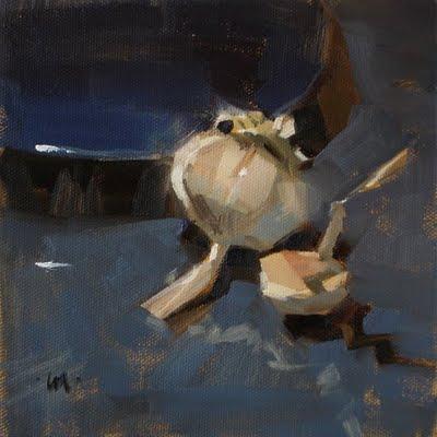 """Mini Me"" original fine art by Carol Marine"