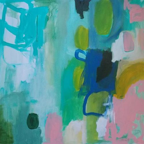 """""""Dear Robin,"""" original fine art by Pamela Munger"""