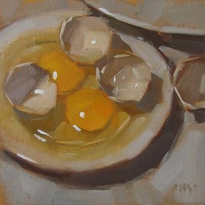 """""""I'll Take Two"""" original fine art by Carol Marine"""