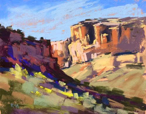 """Abiquiu Adventure Day 2 ...Exploring O'Keeffe Country"" original fine art by Karen Margulis"