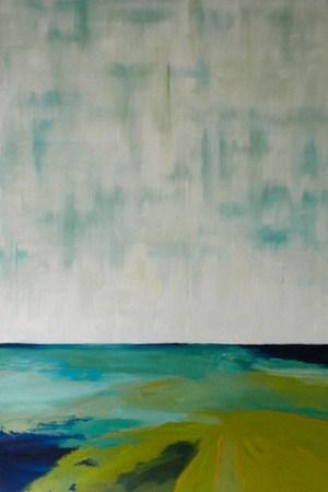 """Untitled, Abstract Landscape"" original fine art by Janet Bludau"
