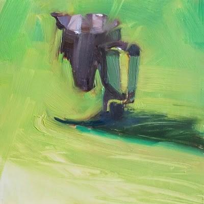 """JUG"" original fine art by Helen Cooper"