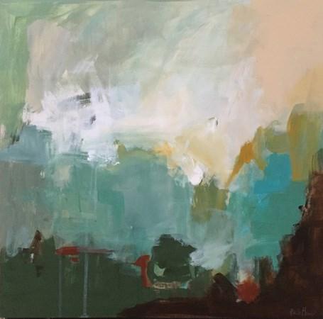 """""""Into the Green"""" original fine art by Pamela Munger"""