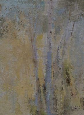 """""""Aspens"""" original fine art by Susan Hammer"""
