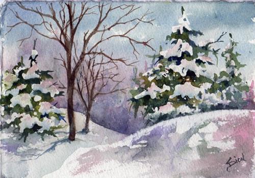"""Side by Each"" original fine art by Sue Dion"