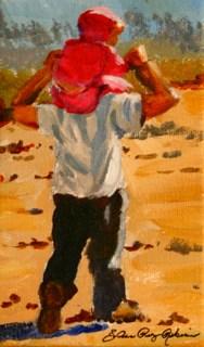 """The View"" original fine art by JoAnne Perez Robinson"