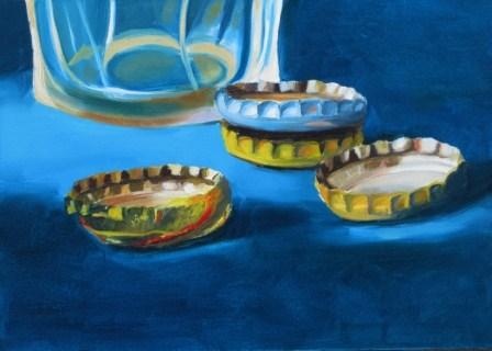 """Four B.C."" original fine art by Amy Hillenbrand"