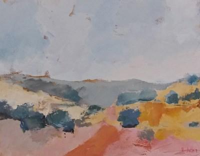 """""""Desert Gold II"""" original fine art by Pamela Munger"""