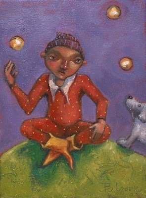 """All Balls In The Air"" original fine art by Brenda York"