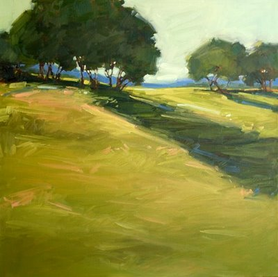 """Afternoon Shadows"" original fine art by Laurel Daniel"