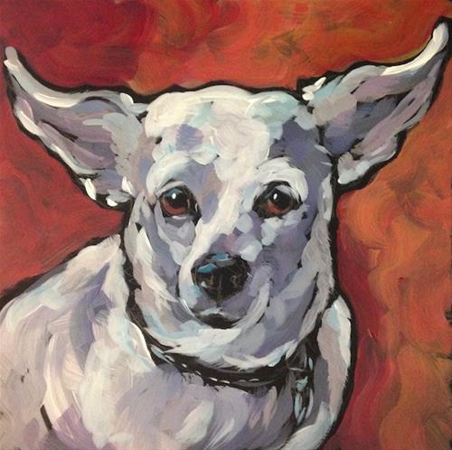 """Bebe"" original fine art by Kat Corrigan"