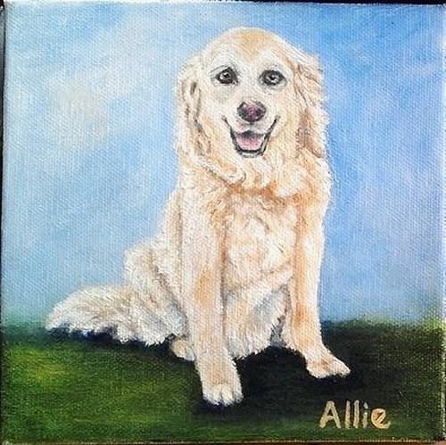 """""""Allie"""" original fine art by Camille Morgan"""