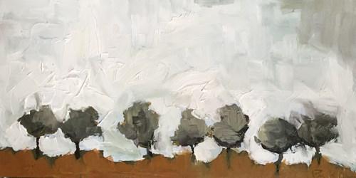 """""""Little Trees"""" original fine art by Pamela Munger"""