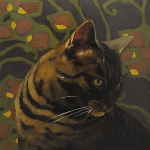 """""""Deco Layla"""" original fine art by Diane Hoeptner"""