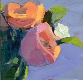 """#1063 Mellow"" original fine art by Lisa Daria"