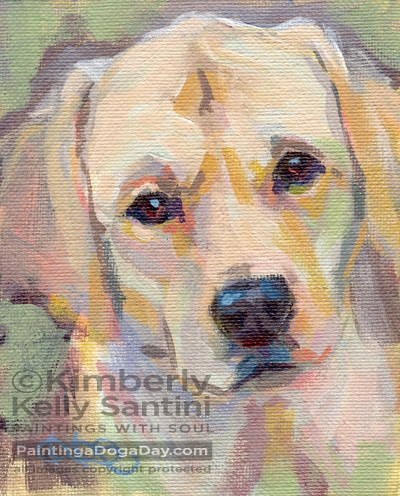 """""""Spring Cleaning"""" original fine art by Kimberly Santini"""