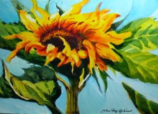 """Horizontal View"" original fine art by JoAnne Perez Robinson"