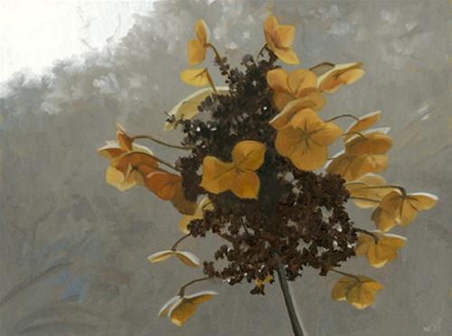 """Shades of Winter"" original fine art by Nancy Herman"