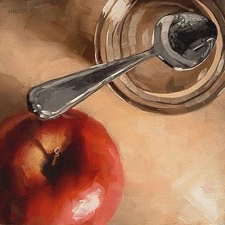 """Spoon Bridge"" original fine art by Michael Naples"