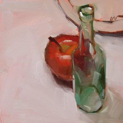 """Frontal Labotomy --- SOLD"" original fine art by Carol Marine"
