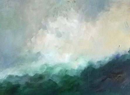 """Greenery"" original fine art by Pamela Munger"