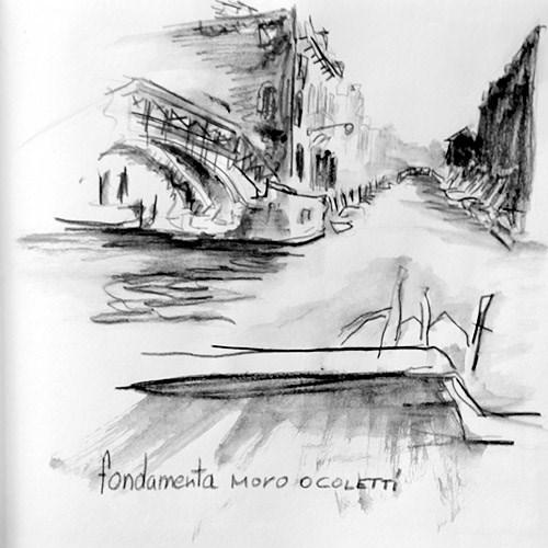 """""""2120 Fondamente Moro o Coletti"""" original fine art by Dietmar Stiller"""