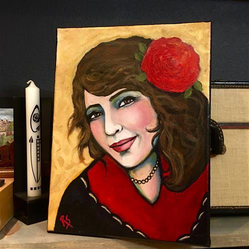"""Muy Bonita"" original fine art by Roberta Schmidt ArtcyLucy"