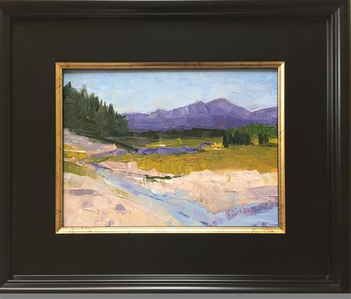 """""""The Yellowstone River"""" original fine art by Carol Dallas"""