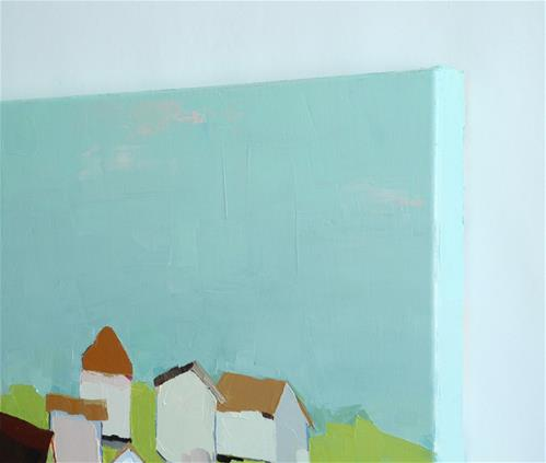 """Little Cottage"" original fine art by Donna Walker"