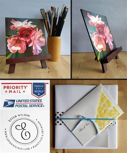 """Roses"" original fine art by Ester Wilson"