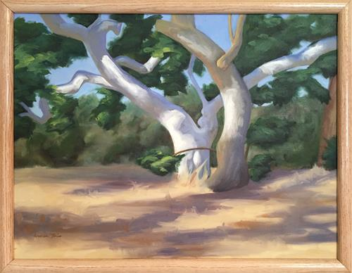"""Dance of the Sycamores"" original fine art by Andrea Jeris"