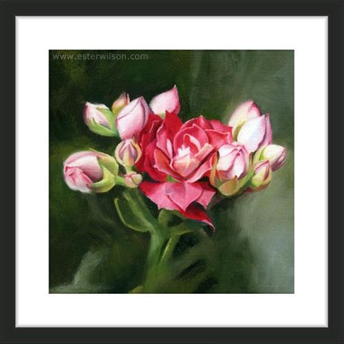 """Crown Blooms"" original fine art by Ester Wilson"