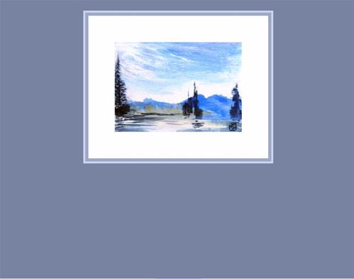 """6006 - Passing Storm"" original fine art by Sea Dean"