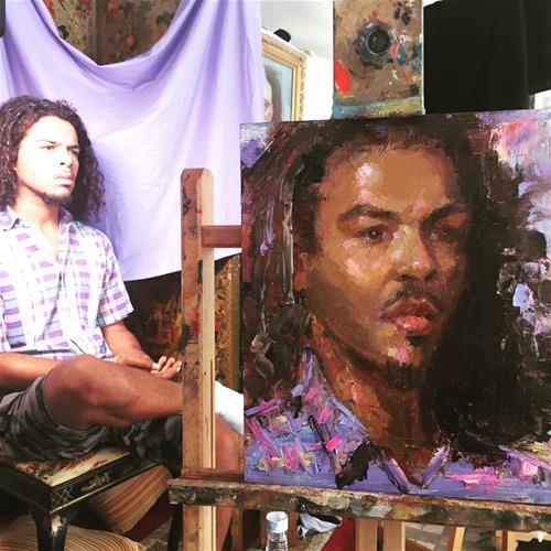 """Dedication"" original fine art by Johanna Spinks"