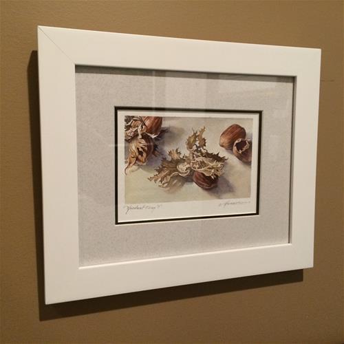 """SALE!!  Crazy Dance of the Hazelnut (Framed )"" original fine art by Nicoletta Baumeister"